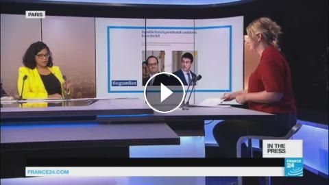 No Second Term for France's Beleaguered President: 'Hollande's Protégé Steps Forward in Palace ...: Subscribe to France 24 now : FRANCE 24…