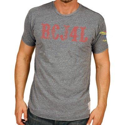 New Men's Kansas Jayhawks Rock Chalk Gray T-Shirt Super Soft Size Large