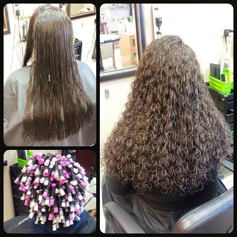 Gorgeous Piggyback Spiral Perm Spiral Perm Long Hair Spiral Perm Long Hair Perm