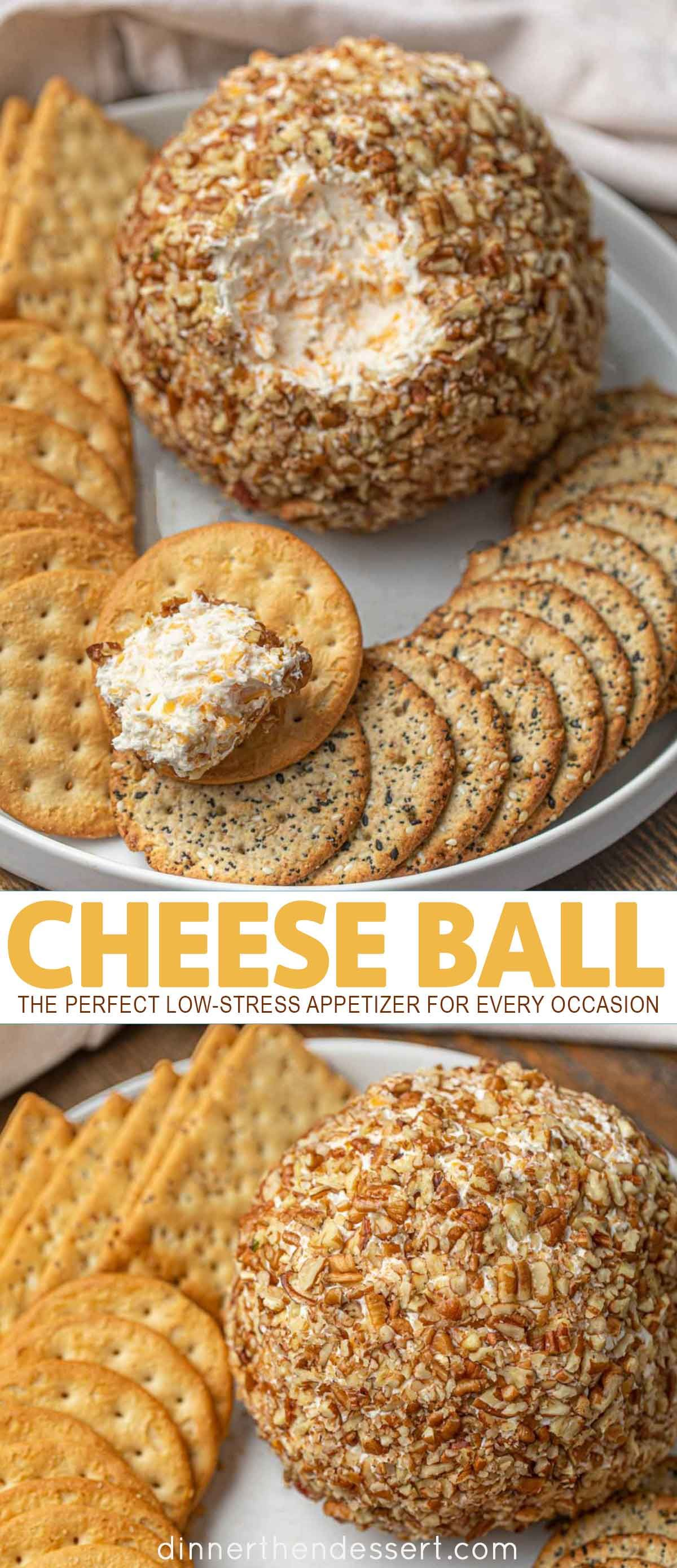 Photo of Ultimate Cheese Ball (SO EASY – Perfect for parties!) – Dinner, then Dessert