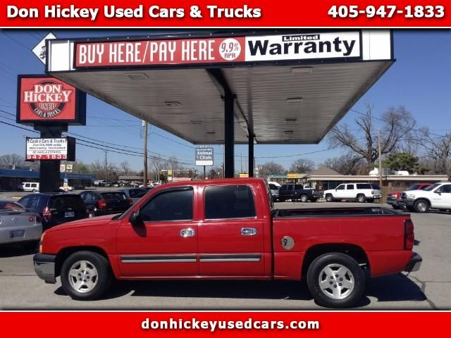 Used 2005 Chevrolet Silverado 1500 Ls Crew Cab 2wd For Sale In Oklahoma City Ok 73127 Don Hickey Used Cars Used Cars Used Trucks Cars For Sale