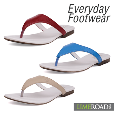 Everyday flats in an array of colours! Pick it up today for just Rs. 749. #Limeroad Visit http://www.limeroad.com/women-footwear for more.
