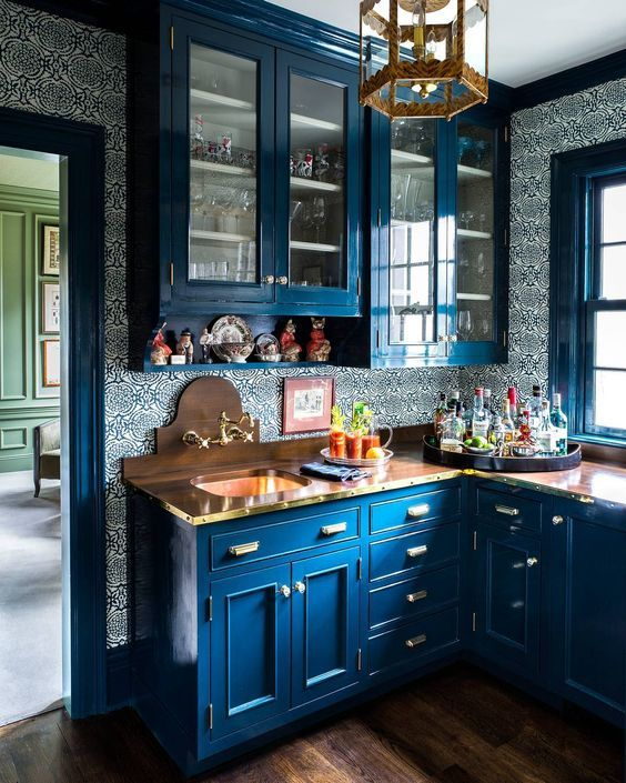 Merveilleux @paulraeside_by_duffy_nyc | Architecture: Bob Miller, Design: Michael Maher  Design | Butlers Pantry