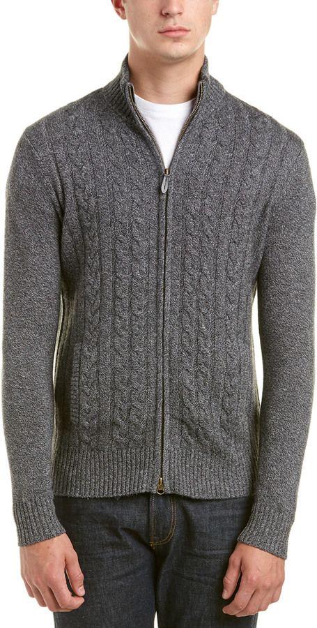 Lockhart Cashmere Wool & Cashmere-Blend Cardigan