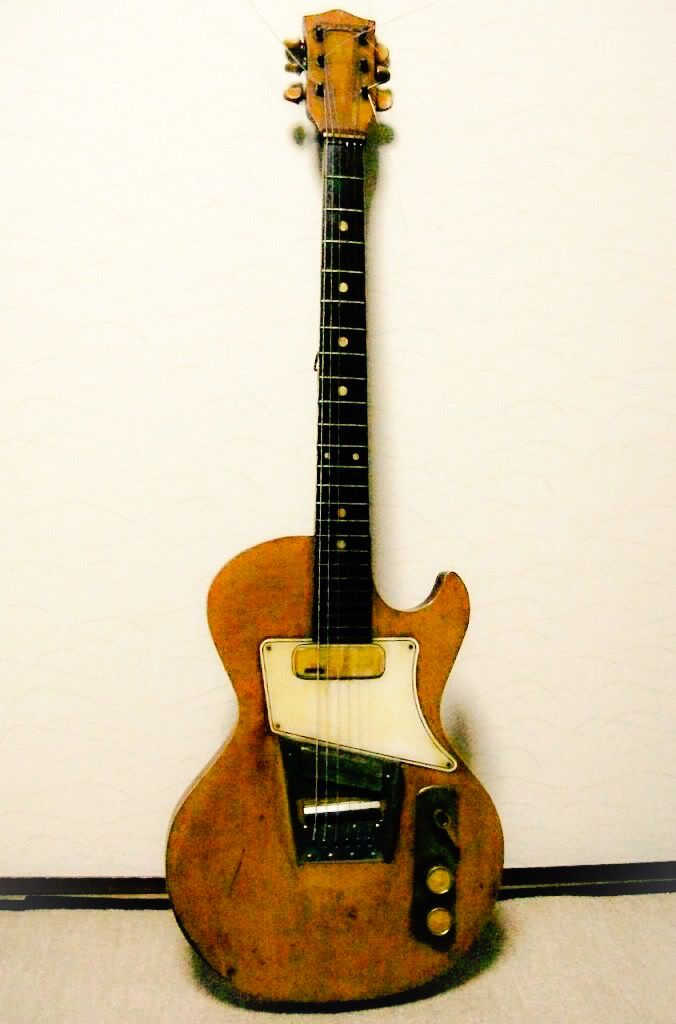First Electric Guitar : the first japanese solid body electric teisco tg54 tn54 famous guitars of ~ Russianpoet.info Haus und Dekorationen