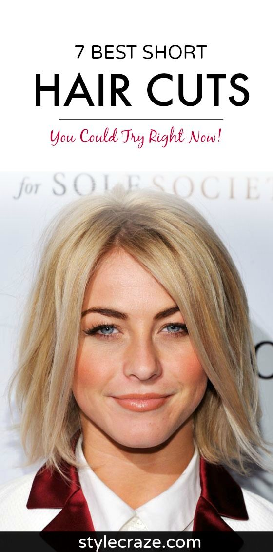 7 Short Hair Cuts You Could Try Right Now Short Haircuts