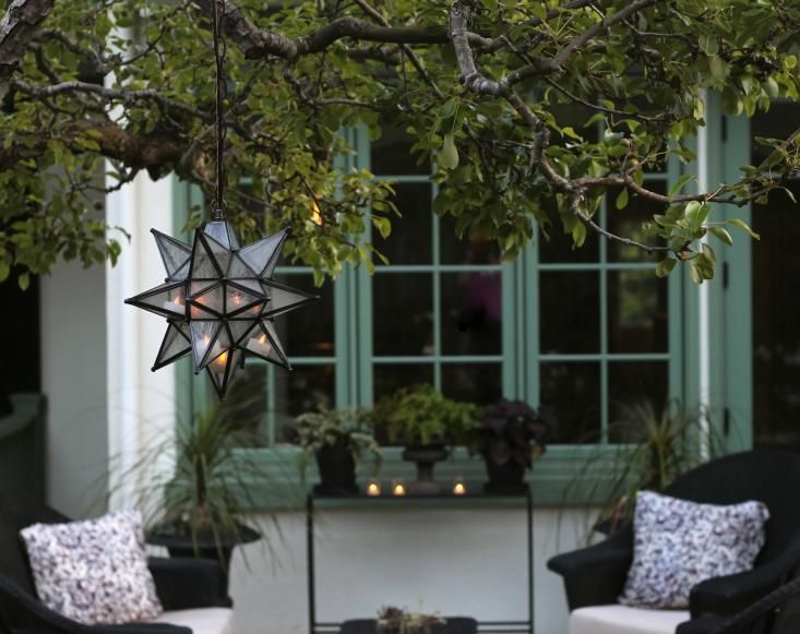 High Quality Contest: Enter To Win A Moravian Star Pendant To Light Up Outdoor Parties:  Gardenista