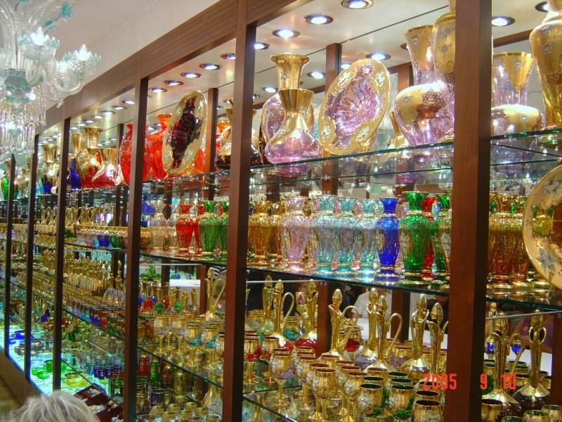 Murano Glass Factory.Murano Glass Factory Italy Murano Glass Venice Italy