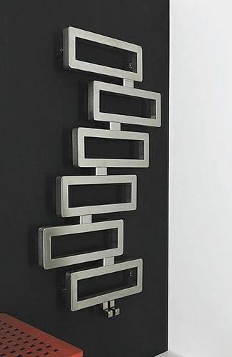 Heißwasser-Heizkörper \/ Edelstahl \/ originelles Design \/ für - heizk rper f r badezimmer
