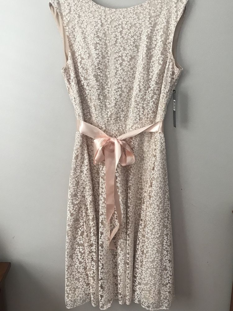 2be6064d1f7fa Tahari Blush Pink Dress Size 8 #fashion #clothing #shoes #accessories  #womensclothing #dresses (ebay link)