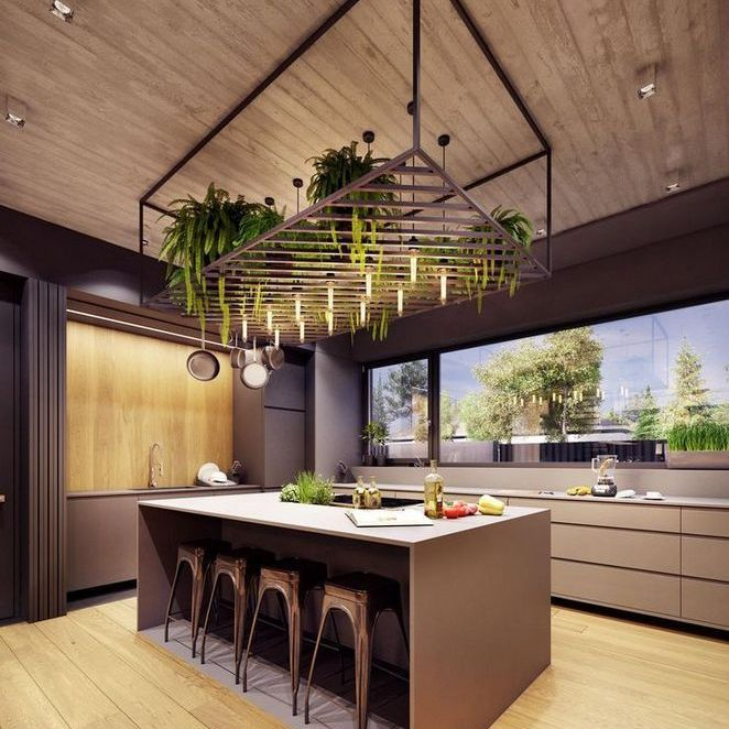 Great Ways For Lighting A Kitchen: 36+ The Simple Ways To Understanding Kitchen Trends For