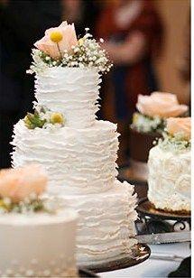 Cake from Jill & Jordan's Ivy Room Wedding