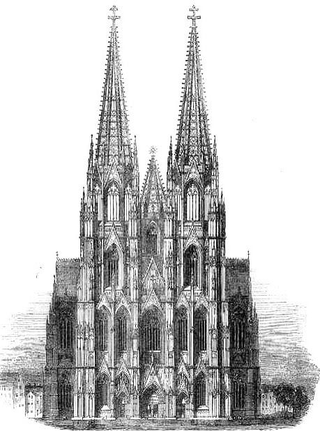 The Completion Of Cologne Cathedral Cathedral Cathedral Architecture Architecture Sketchbook