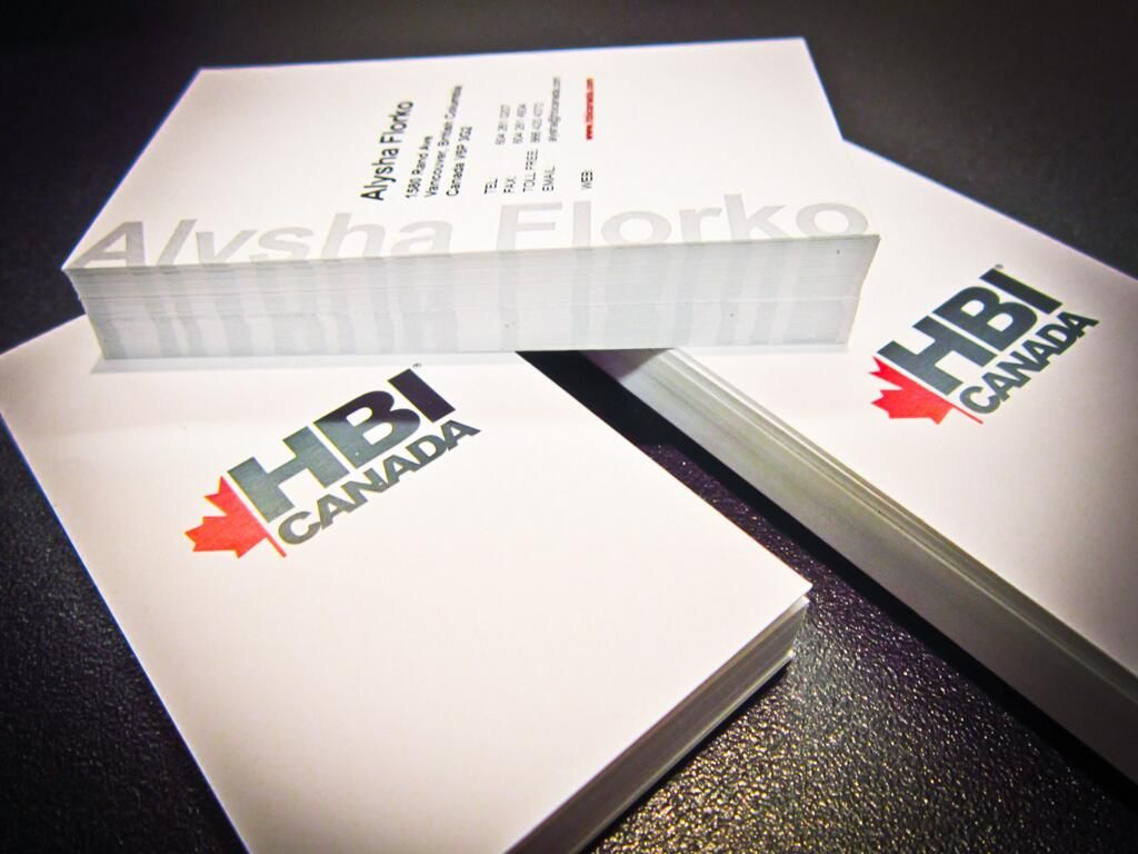Twitter / LinxPrint: Business cards completed for ... | Business ...