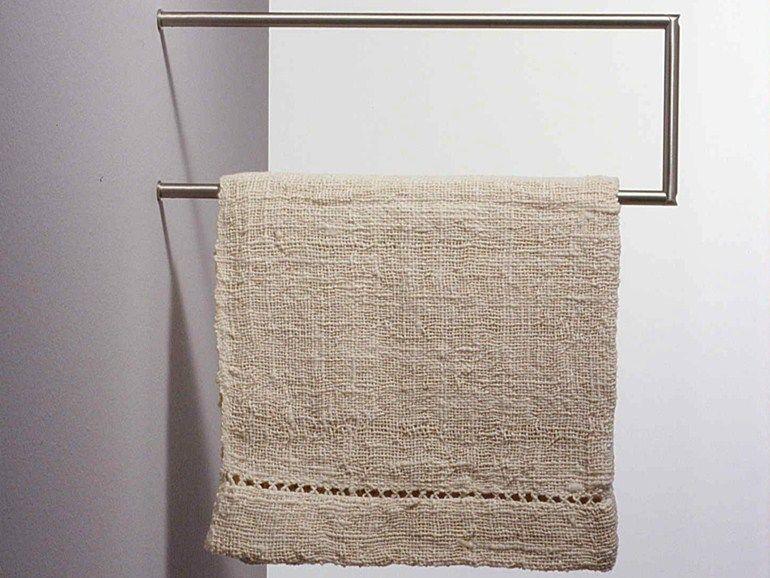 Porta asciugamani a barra in acciaio inox MINIMAL Collezione ...