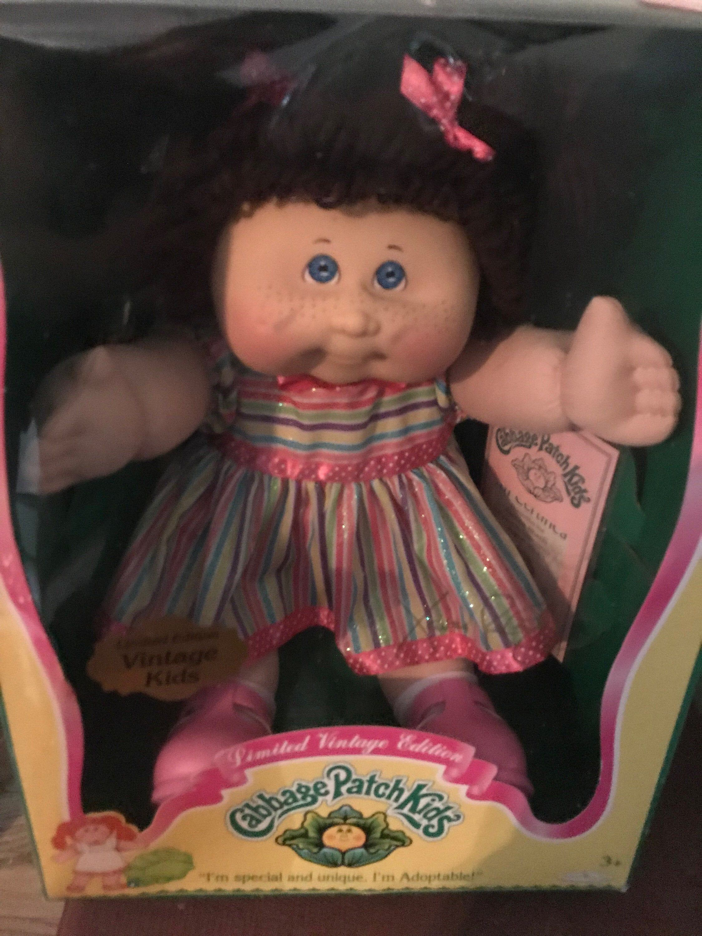 Cabbage Patch Kids Doll Xavier Roberts Edition Limited Etsy Cabbage Patch Kids Dolls Cabbage Patch Dolls Cabbage Patch Kids