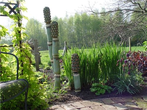 sculpture in the garden | For the Home | Pinterest | Garden art ...