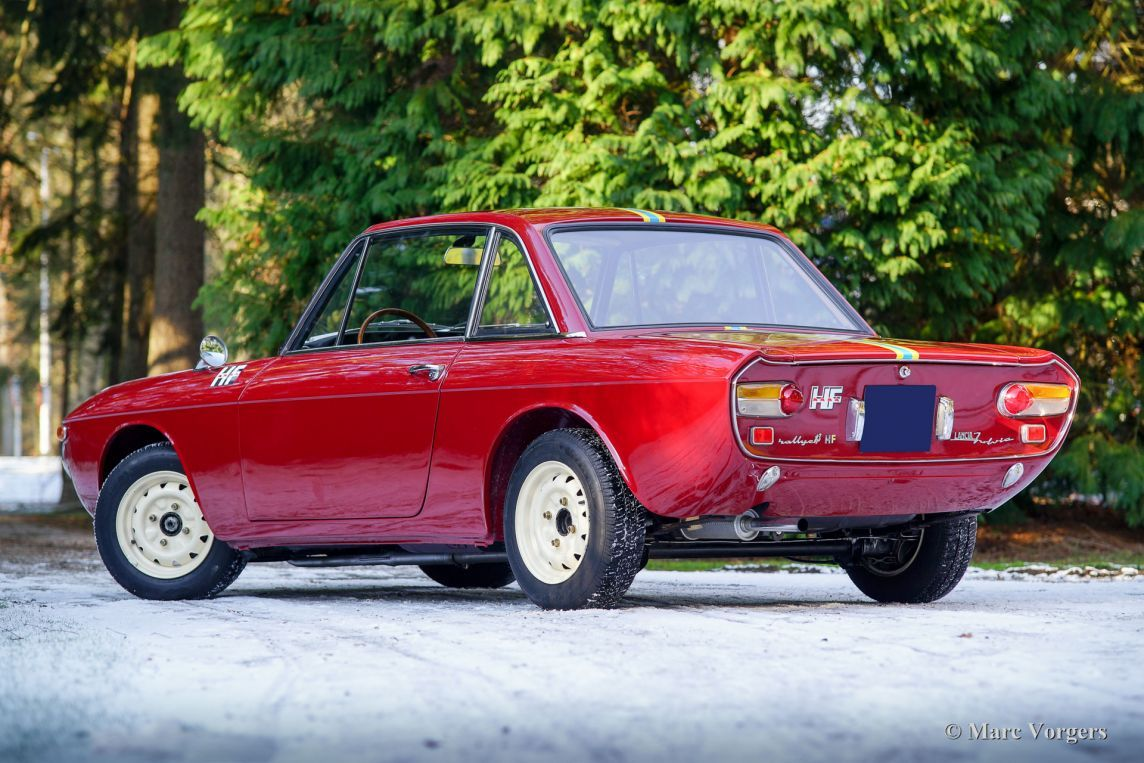 Lancia Fulvia 1.3 HF coupe, 1968 - Welcome to ClassiCarGarage ...