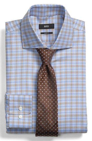 64528f68f BOSS HUGO BOSS Dress Shirt & Tie available at #Nordstrom | Dress ...