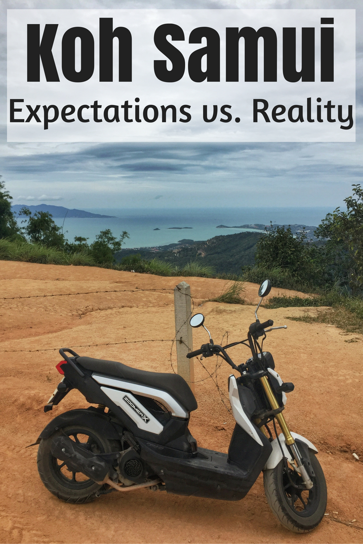 Koh Samui -> it's touristy, it's expensive, it's this and that! The island is awesome, sure it might be overdeveloped but that just means you need to zig, not zag.