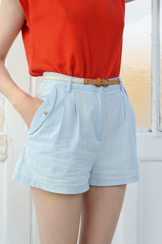 Shorts Itomi Sky Blue - Short - Des Petits Hauts 2