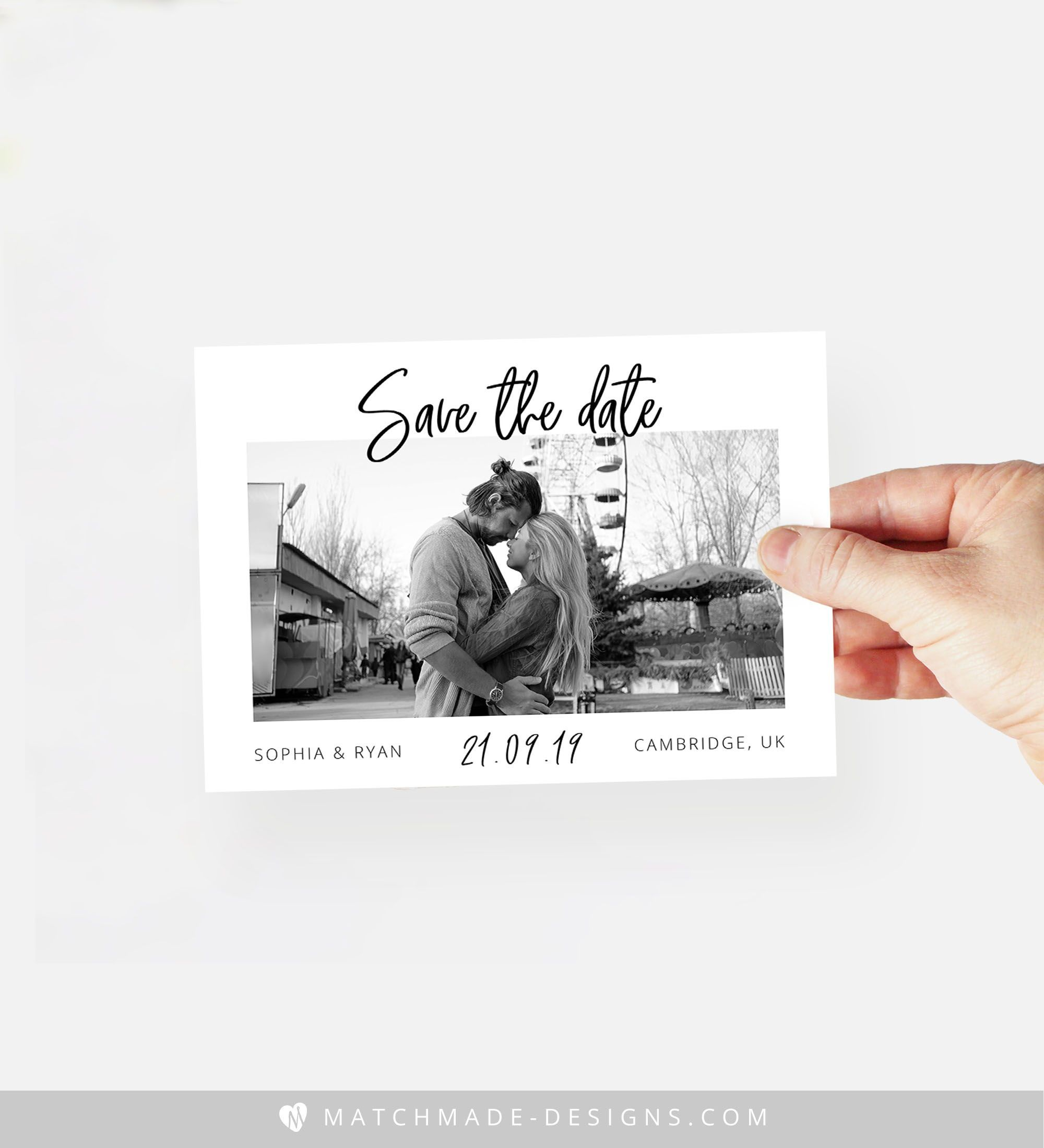 make your own save the date online free