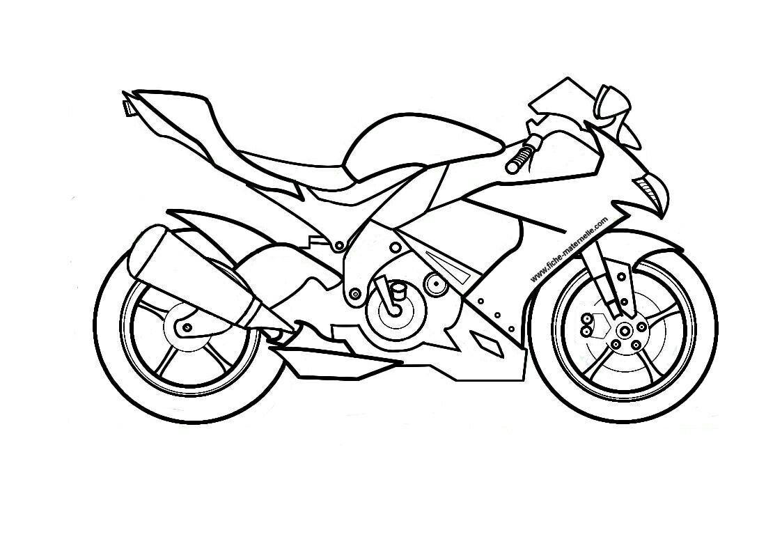 Dessin Moto Dessin Gratuit Coloriage Moto Coloriage Ninjago