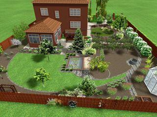 Правильная планировка сада: фото и виды планировки участка ...