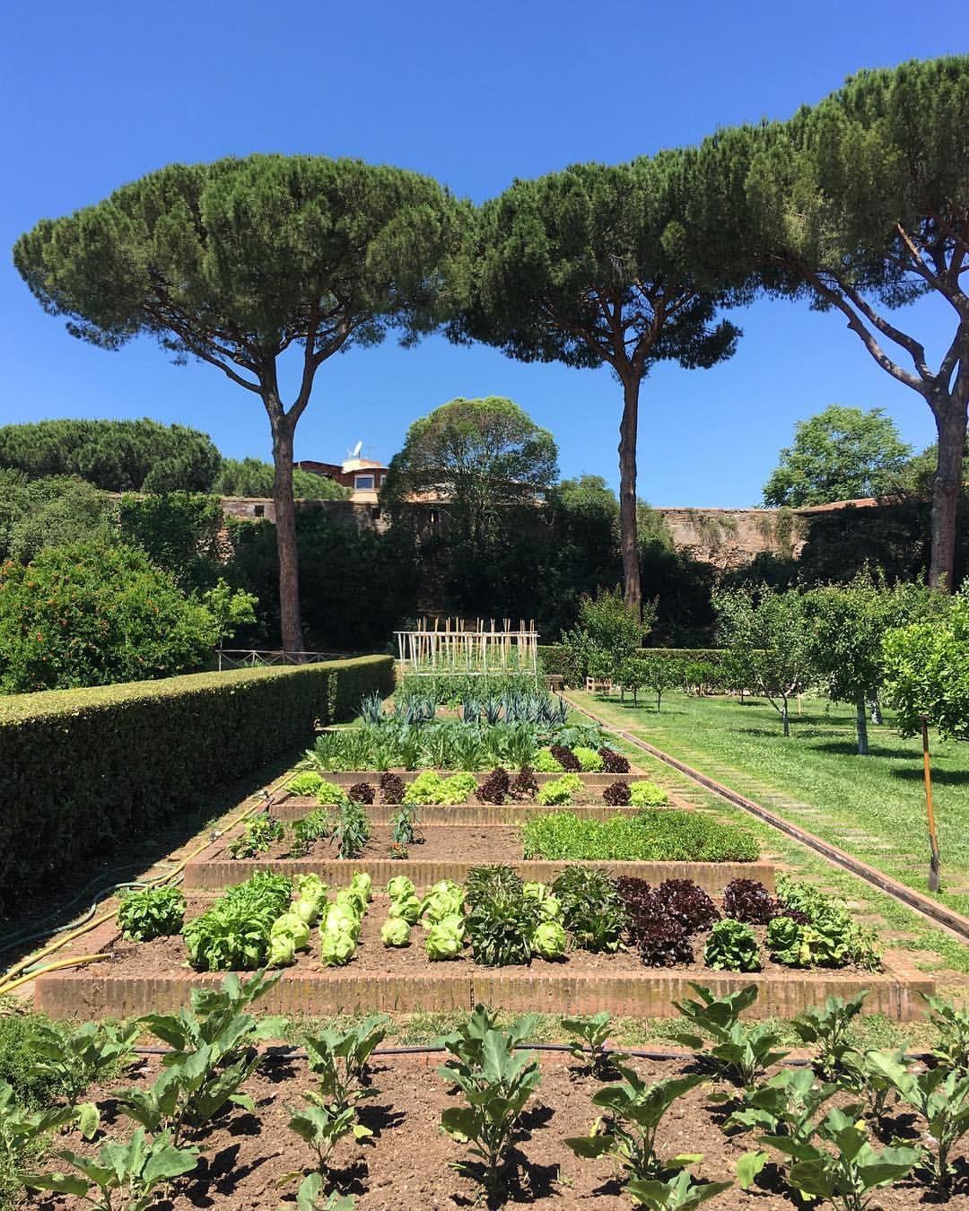 Kitchen Garden American Academy In Rome Italy