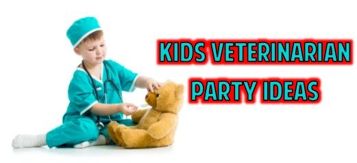 These kids veterinarian party ideas are so adorable Perfect for a