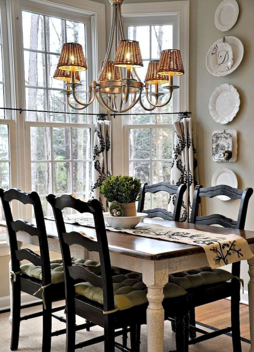 57 Awesome French Country Dining Room Decor