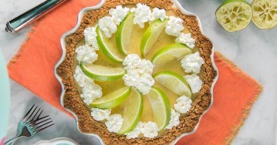 Tequila Lime Margarita Pie #limemargarita