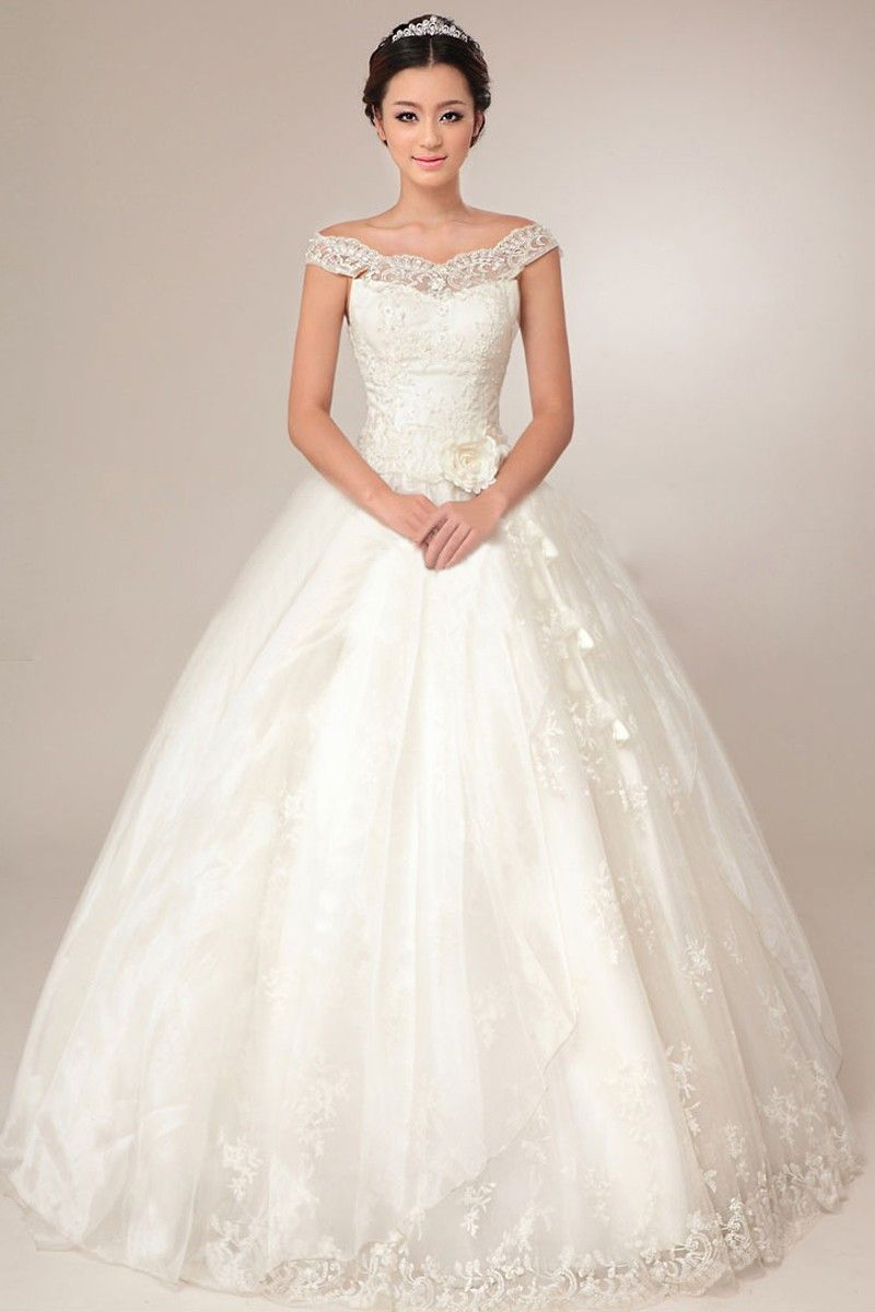 New arrival ball gown wedding dress, customized just for you! 4 ...