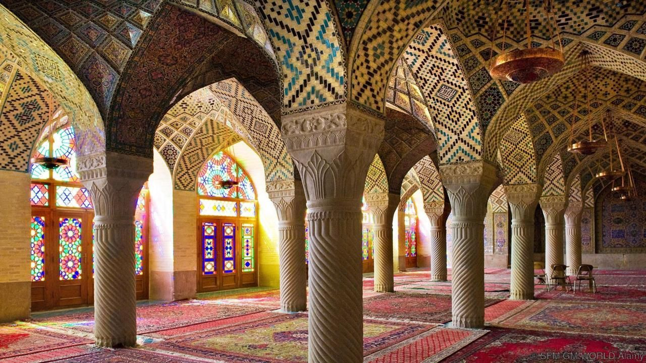 Pink Mosque...A Amazing architect indeed