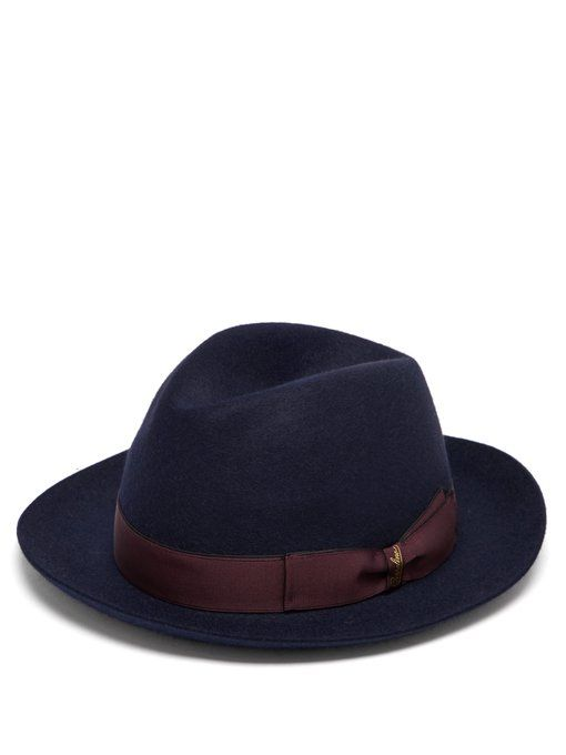55f09c72c74e10 BORSALINO Alessandria felt hat. #borsalino | Borsalino | Felt hat ...