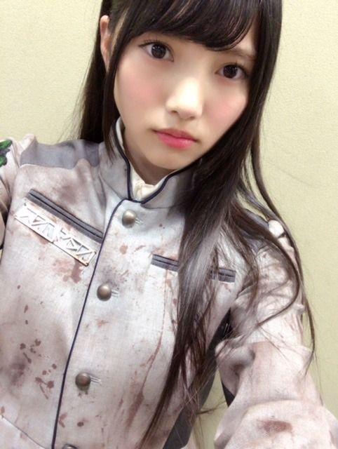 上村莉奈の自撮り画像