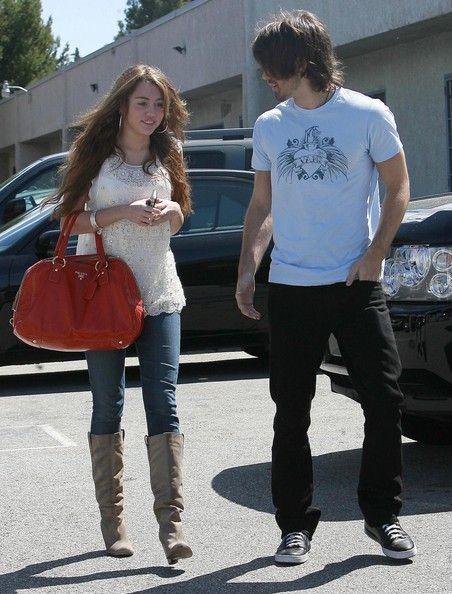 Miley Cyrus And Justin Gaston