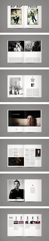Print, magazine, book, editorial layout design.