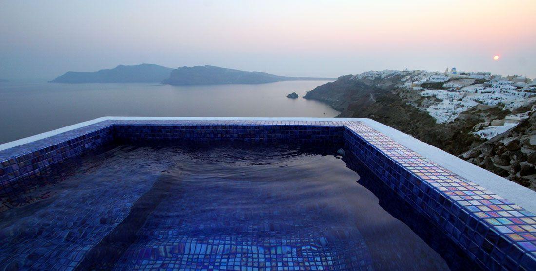 Ikies Santorini Luxury Hotel Caldera View | Traditional Houses Oia Santorini