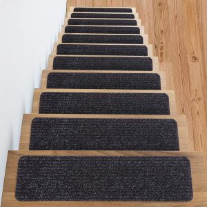 Top 10 Best Non Slip Stair Treads In 2020 Reviews With Images | Best Non Slip Carpet For Stairs | Wood | Bullnose Carpet | Tile | Stair Runner | Wood Stairs
