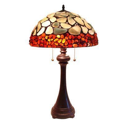 """Fine Art Lighting Cobble Stone 29"""" Table Lamp"""