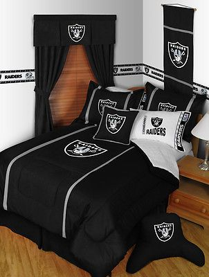 Oakland Raiders Bedroom Decor More Items Mvp Make Your Own