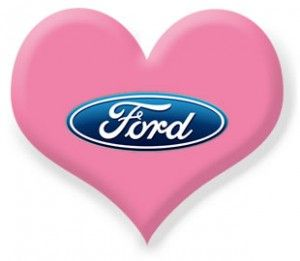 Happy #ValentinesDay #Ford #heart #pink