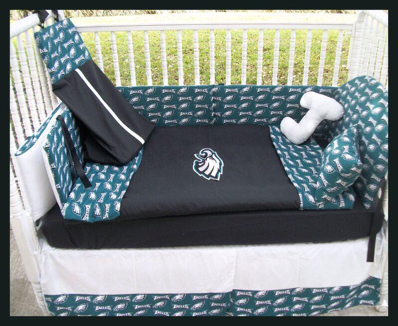 Eagles crib set | Crib bedding boy