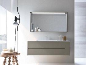 Ideagroup nyu mobile bagno moderno sospeso vari colori componibile cm 137 4 lavabo pinterest - Mobile bagno componibile ...