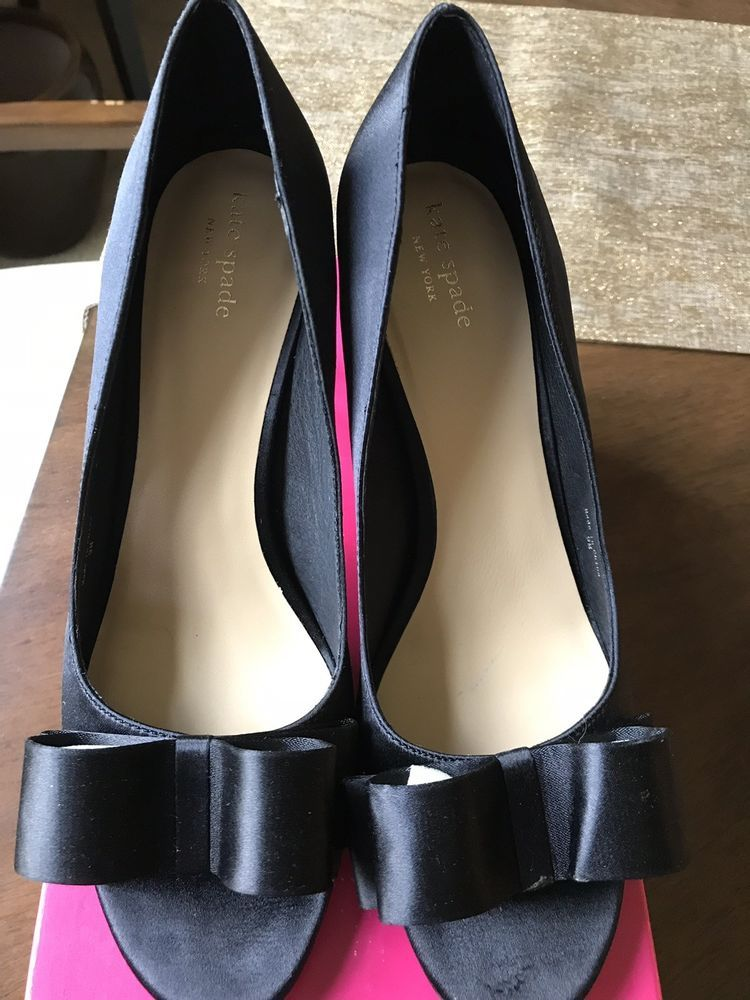 b11d4e83bf0f Kate spade Black Evening Shoes  fashion  clothing  shoes  accessories   womensshoes  heels (ebay link)