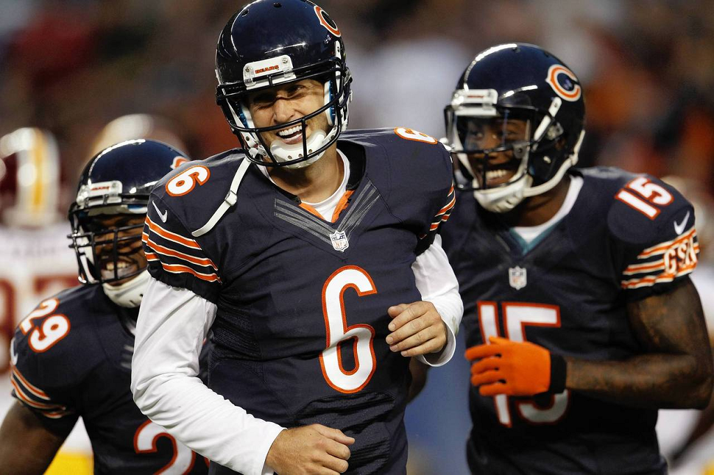 Cutler and Marshall Chicago sports teams, Chicago bears