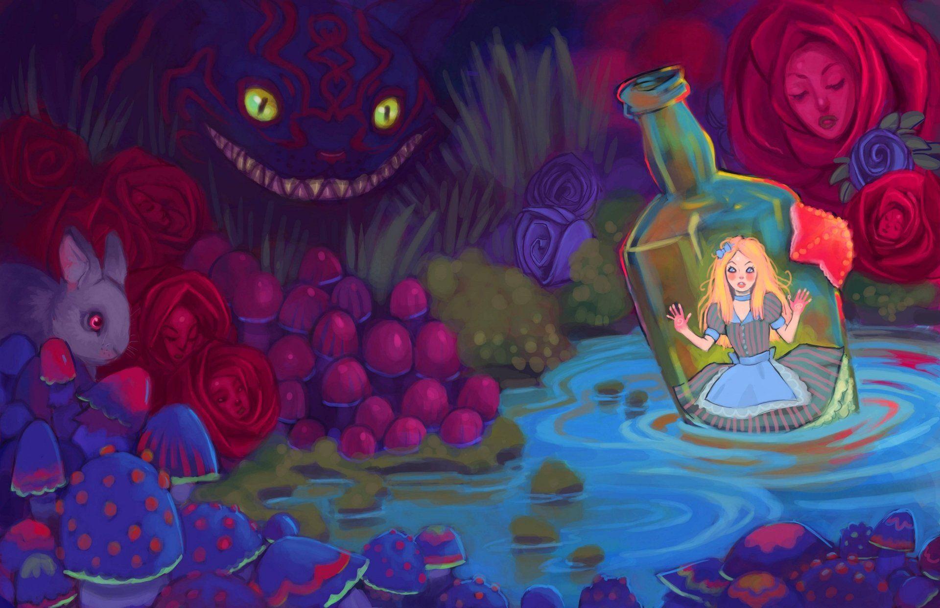 4080x2640 Alice In Wonderland Wallpaper Background Image View