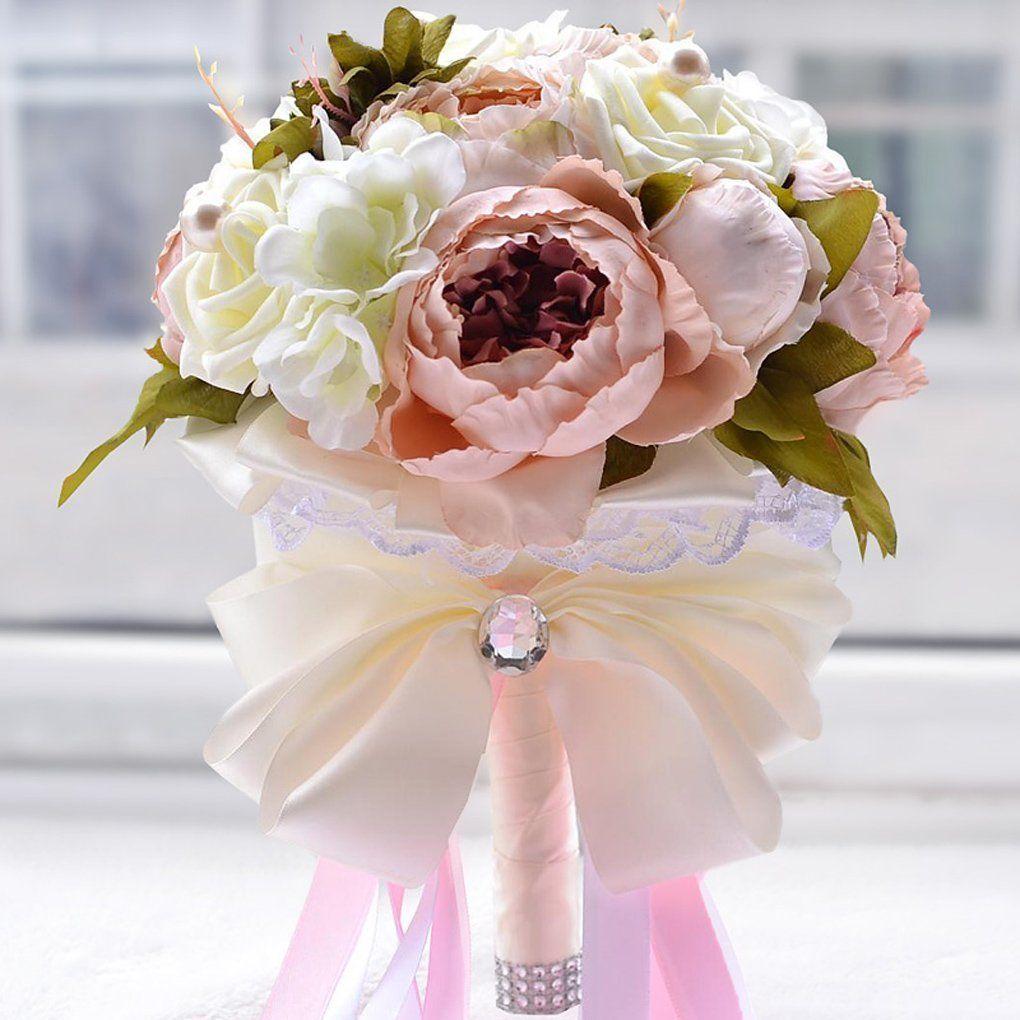 Brautstrauss Braut Hochzeit Blumenstrausse Hochzeit Blume Kunstliche