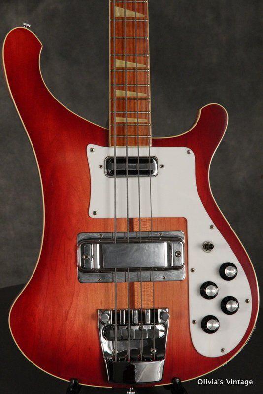 4b811f2217 Rickenbacker 4001 Bass 1973 Fireglo w Toaster Pickups | Rickenbacker ...